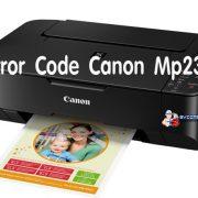 ข้อผิดพลาดรหัสแคนนอน mp237